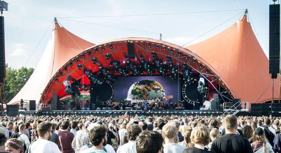 Roskildefestival - her fra åbningskoncenteten i 2016 - har mange års erfaring med at tage hånd om sikkerheden, siger sikkerhedschef, Morten Therkildsen.