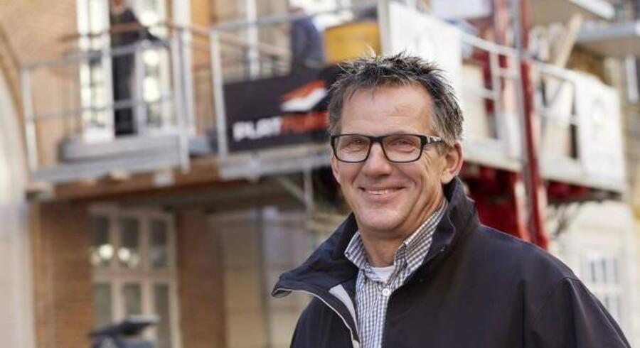 Peter Knudsen er fyldt med gode ideer og hurtig til at føre dem ud i livet. Han har til gengæld ingen ambitioner om at komme til at stå i spidsen for store virksomheder.