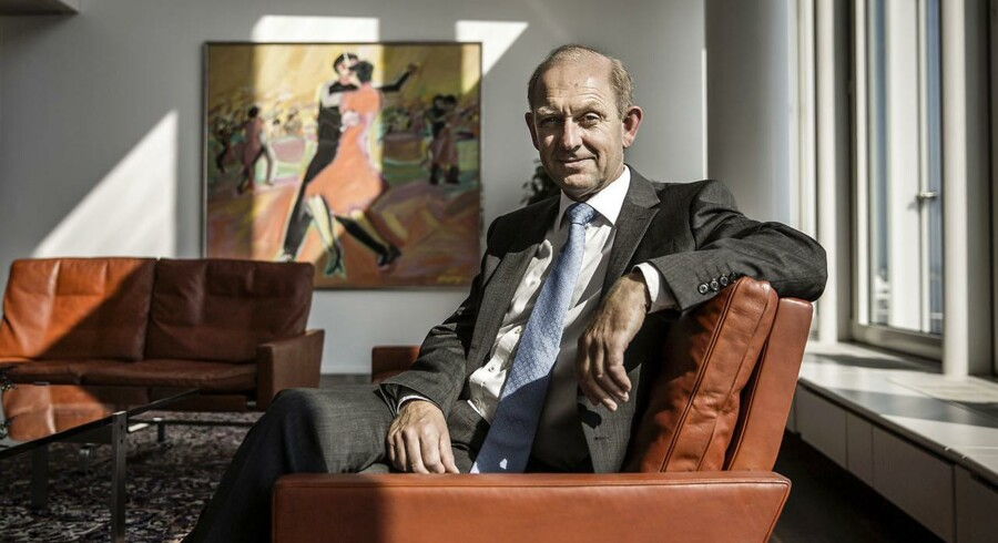 Alm Brands adm. direktør Søren Boe Mortensen overrasker onsdag med en kæmpe opjustering.