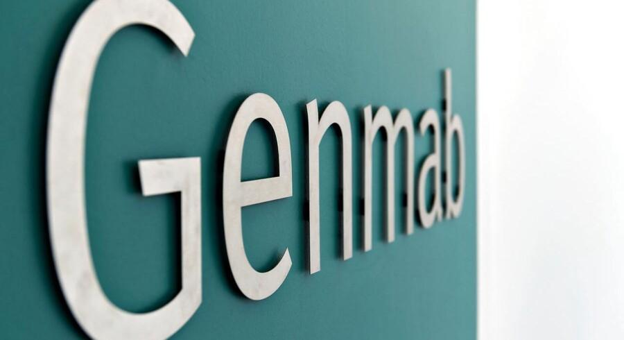 Genmab logo PR-foto.