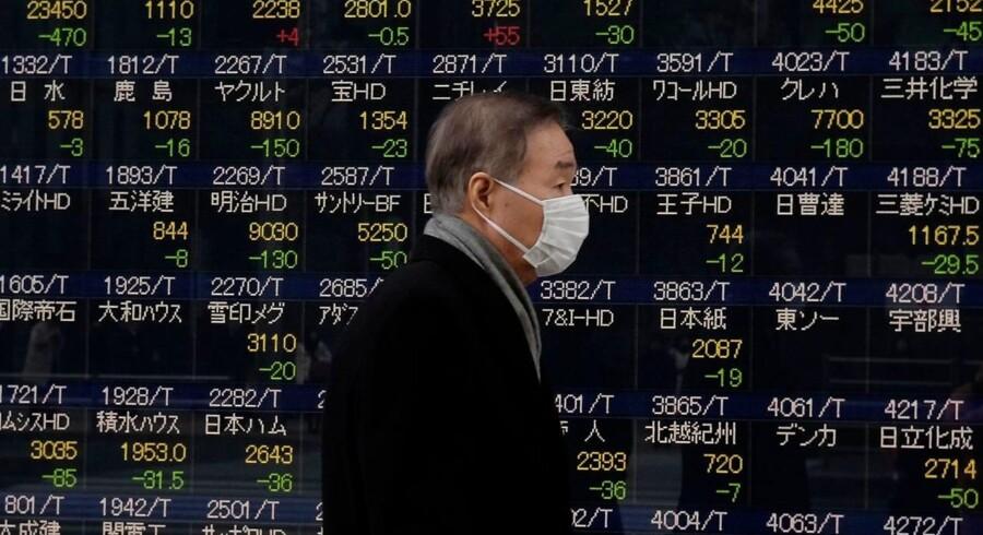De asiatiske aktiemarkeder forlænger stigningerne tirsdag, hvor markedet har ramt en tre ugers top efter fald i de amerikanske renter og nye massive stigning på Wall Street.