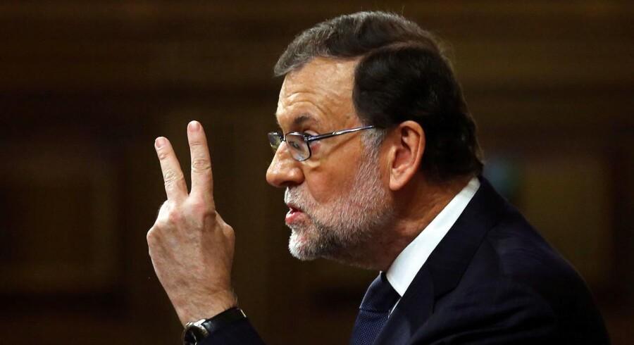 Mariano Rajoy er en mand med ordet i sin magt.