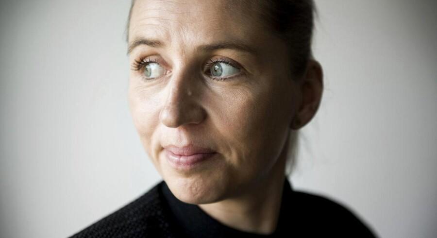Mette Frederiksen langer blandt andet ud efter Lars Løkkes okonomiske politik i sin alternative nytårstale. Arkivfoto: Scanpix