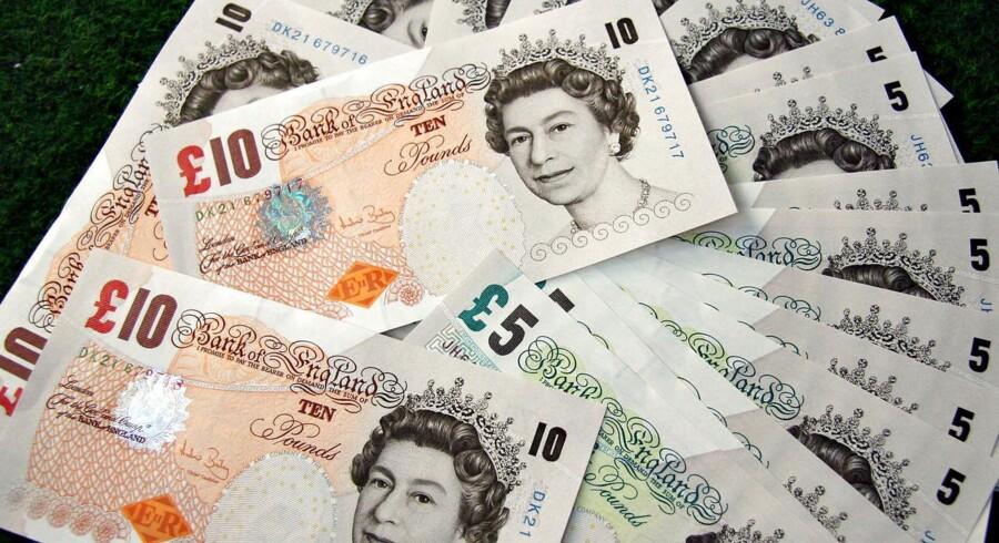 Britiske pund.