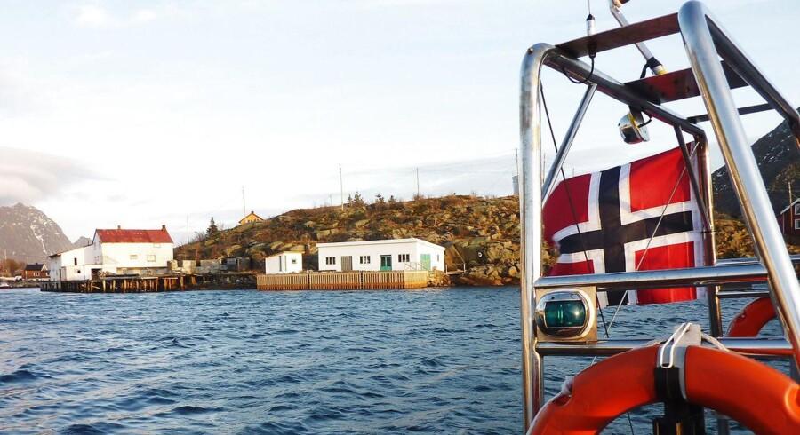 Norge har verdens største industri inden for opdræt og eksport af laks, og eksportpriserne fortsætter deres imponerende himmelflugt.