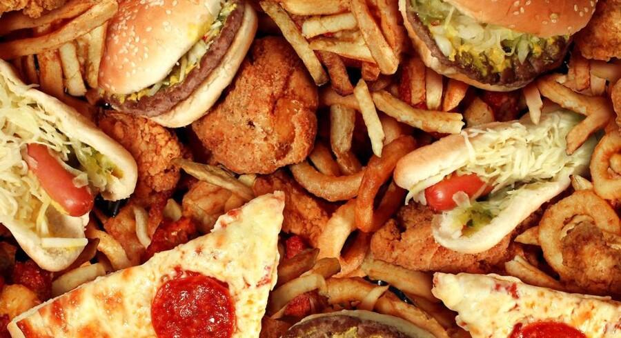 Bogmarkedet flyder med opskrifter på infantil mad så som burgere, flæskesvær og hot dogs. Se listen over årets madbøger længere nede i artiklen.