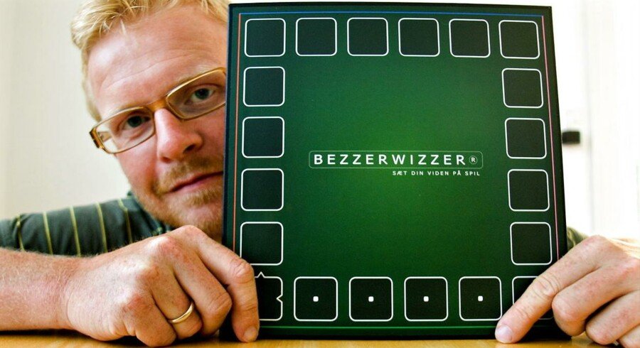 Jesper Bülov har udviklet brætspillet'Bezzerwizzer'. Arkivfoto.