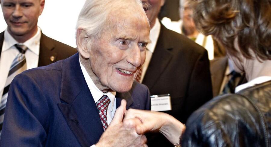 Mærsk McKinney Møller døde 16. april 2012