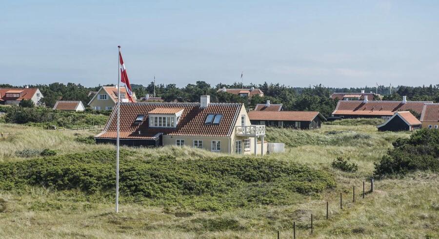 De største procentvise afslag får huskøberne på toppen af Danmark. Således blev der i Skagen gennemsnitligt givet et forhandlings-nedslag på husene på 9,6 procent i tredje kvartal. Det viser tal fra Boliga.*