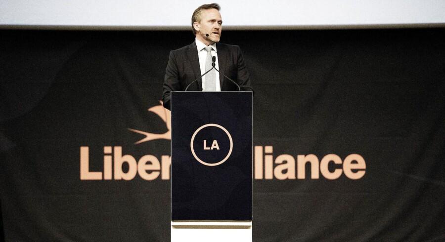 Anders Samuelsen under Liberal Alliances landsmøde.