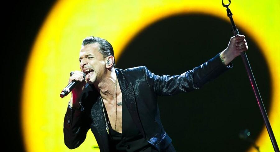 Depeche Mode koncert i Parken i København torsdag d. 13. juni 2013.