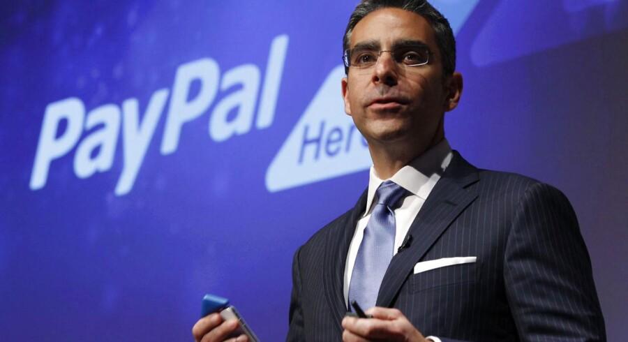David Marcus, som gennem to år har været topchef for PayPal, forlader senere på måneden netbetalingstjenesten. Arkivfoto: Yuriko Nakao, Reuters/Scanpix