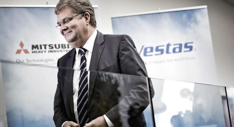 »Konsolidering er meget naturligt i industrien,« fortalte Vestas' administrerende direktør, Anders Runevad.