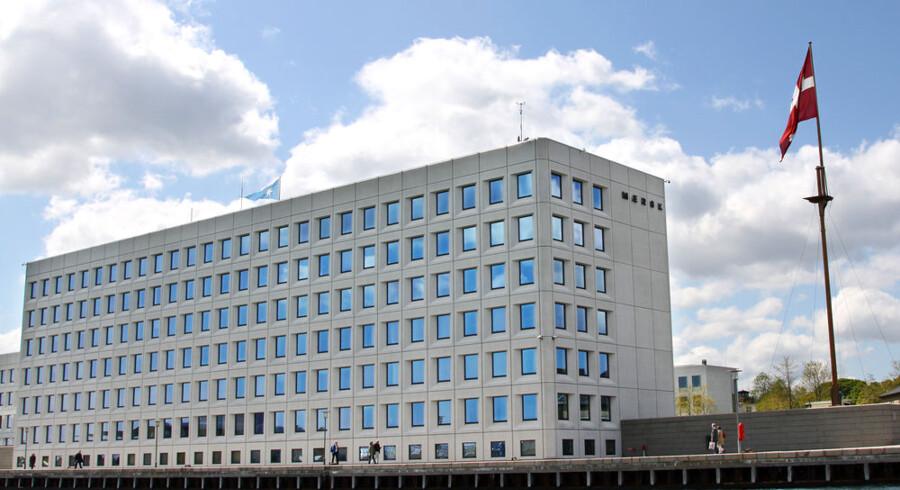 A. P. Møller - Mærsks hovedkvarter på Esplanaden i København