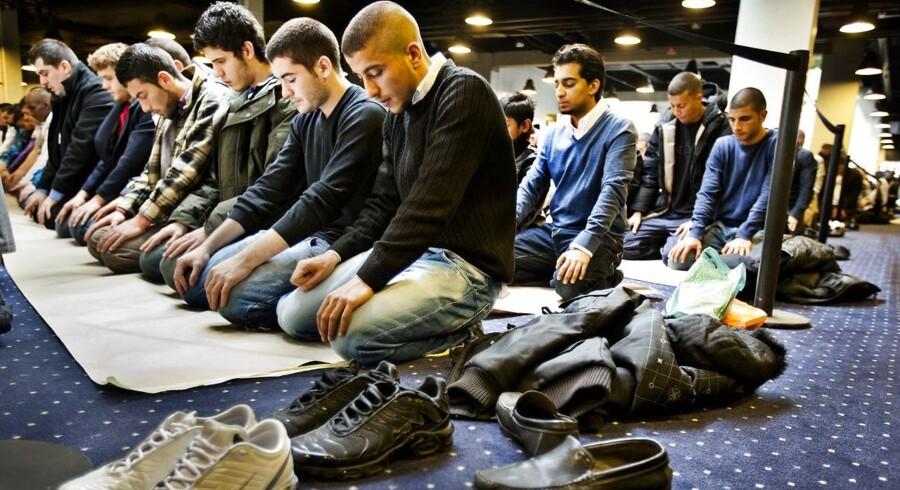 Hizb Ut-Tahrir under deres årlige konference. Her fra 2010 i Bella Center.