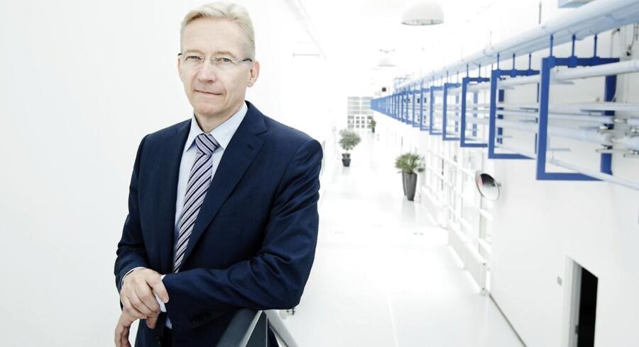 Lars Rasmussen, topchef for den medicotekniske virksomhed Coloplast.