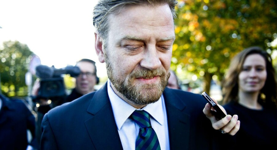 Tidligere spindoktor for Troels Lund Poulsen, Peter Arnfeldt.