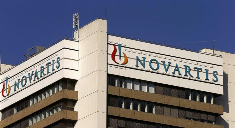 I årets fjerde kvartal endte Novartis' samlede omsætning på 12,5 mia. dollar, mens resultatet per aktie, EPS, landede på 1,14 dollar