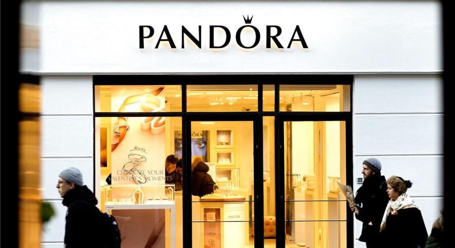 Arkivfoto. Pandora-aktien retter sig trods nyhed om endnu en short-sælger. (Foto: Nils Meilvang/Scanpix 2015)