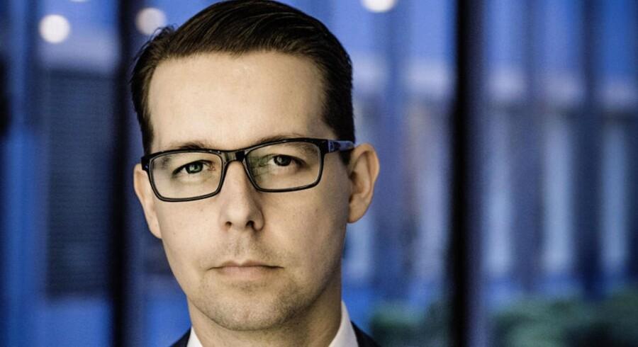 Jacob Aarup-Andersen bliver ny økonomidirektør i Danske Bank pr. 1. april 2016.