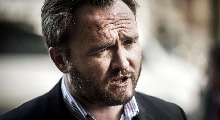 Socialdemokraternes Dan Jørgensen.