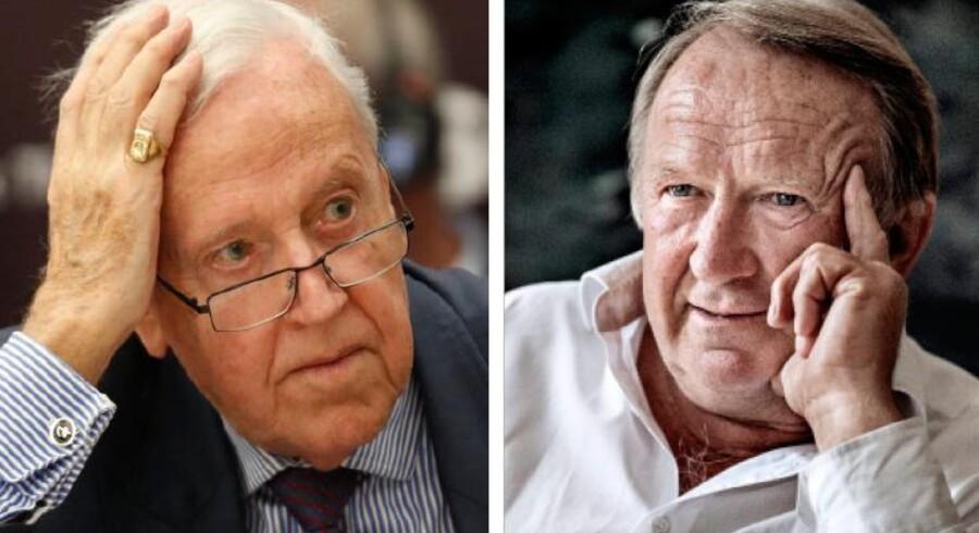 Professor emeritus Niels Thygesen og tidligere overvismand Christen Sørensen