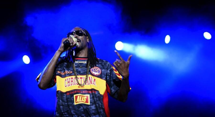 Tivoli har stor succes med sit musikkoncept, Fredagsrock. Her optræder Snoop Dogg i Tivoli.