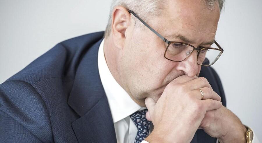 Søren Skou, topchef i Mærsk, har fået noget at tænke over.