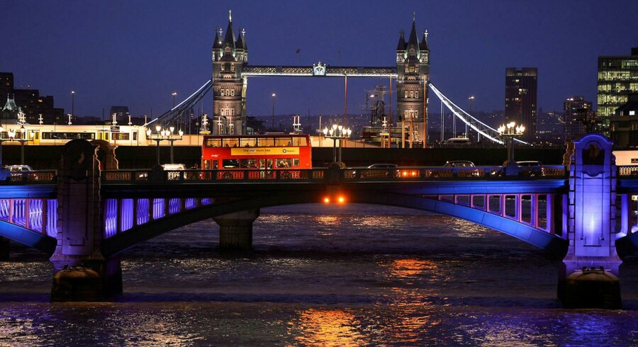 Arkivbillede af London Bridge.