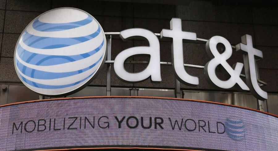 Arkivfoto: AT&T logo.