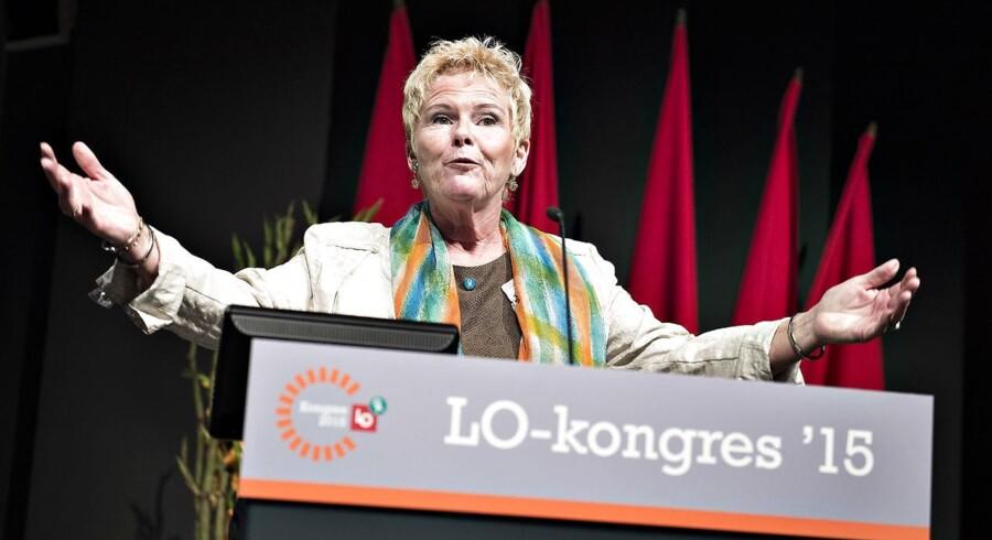 Medlemstallet uden for hovedorganisationerne steg med 7,5 procent, mens de største hovedorganisationer i Danmark, LO og FTF, omvendt oplevede medlemsfald på 2,5 og 0,1 procent. (Foto: Henning Bagger/Scanpix 2016)