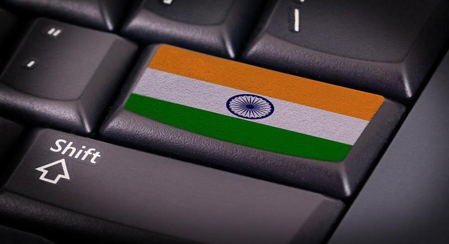 Det er fortsat de indiske IT-leverandører, som henter de fleste udliciteringskontrakter i Norden, men billedet er ved at ændre sig. Arkivfoto: Iris/Scanpix