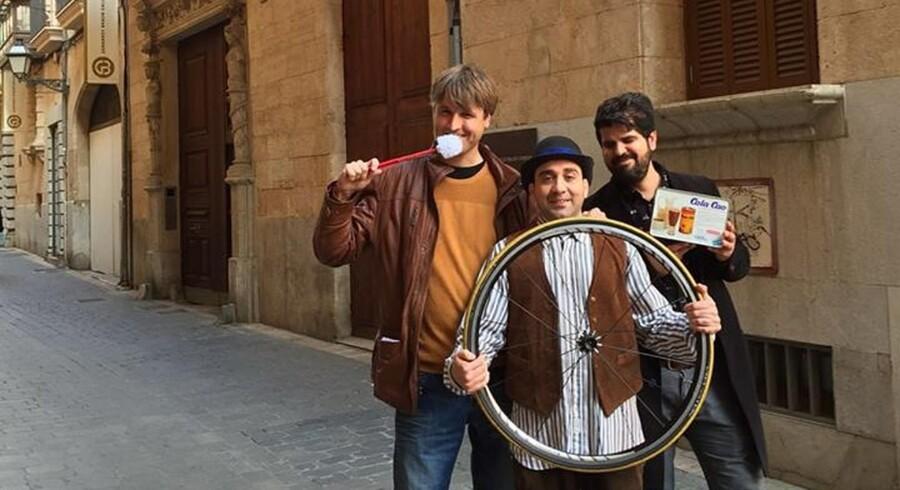 Via Corrupta-holdet ved den tidligere regionalpræsident Jaume Matas' suspekt erhvervede residens. Foto: PR
