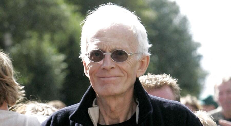 ARKIVFOTO af Mogens Amdi Petersen efter at Byretten i Ringkøbing torsdag 31. august 2006 havde frikendt ham for anklagerne for bedrageri.