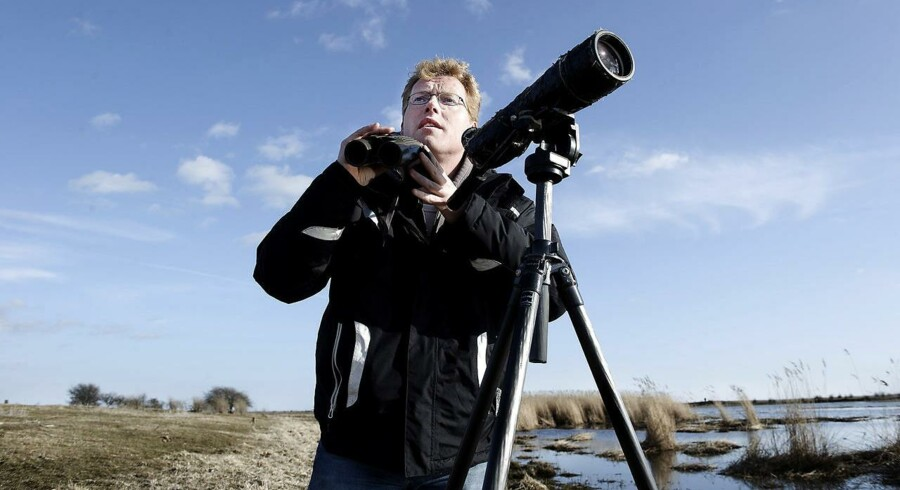 Sebastian Klein har gjort et usædvanligt fuglefund på Christiansø.