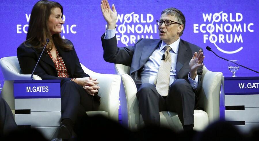 Bill Gates og hans hustru Melinda Gates er blandt de største velgørere i USA. De er en del af en tendens, der går mod, at dem der har meget, giver mere til andre, lyder det fra to eksperter.