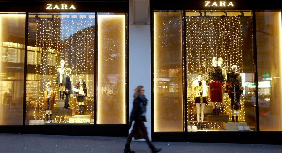 Spanske Inditex, som blandt andet ejer modetøjsvirksomheden Zara, har fået en godt start på fjerde kvartal.