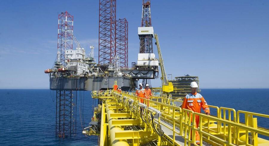 Maersk Oil opnåede i første kvartal 2016 en markant højere produktion end tidligere.