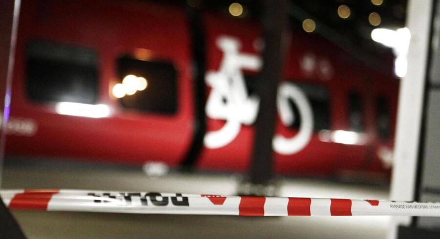 Under stormen 28. oktober 2013 blev togtrafikken lammet, Banedanmark forbereder sig på ny voldsom storm på torsdag.