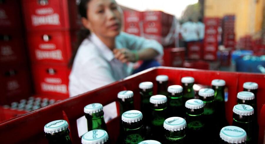 ARKIVFOTO: Habeco's fabrik i Hanoi