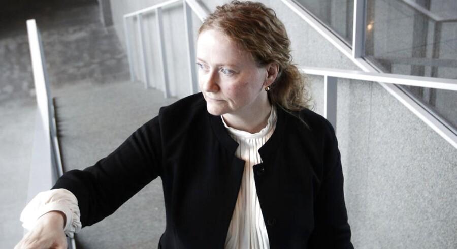Maersk Lines kommercielle direktør Hanne B. Sørensen.