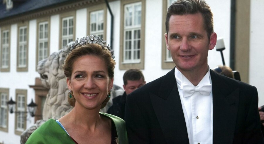 Prinsesse Cristina af Spanien og hendes mand, Inaki Urdangarin.