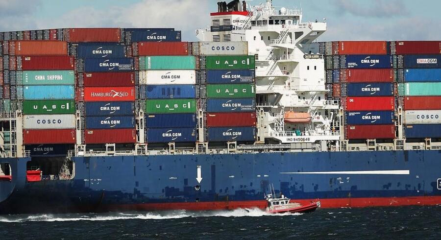 Nordic Shipholding fik i årets andet kvartal et overskud efter skat på 1,0 mio. dollar, hvilket er det samme som for perioden et år tidligere. Ser man på halvåret faldt overskuddet dog med 1,2 mio. dollar til 2,5 mio. dollar. Arkivfoto.