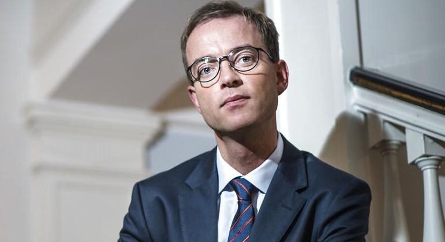 Den nye miljø- og fødevareminister Esben Lunde Larsen