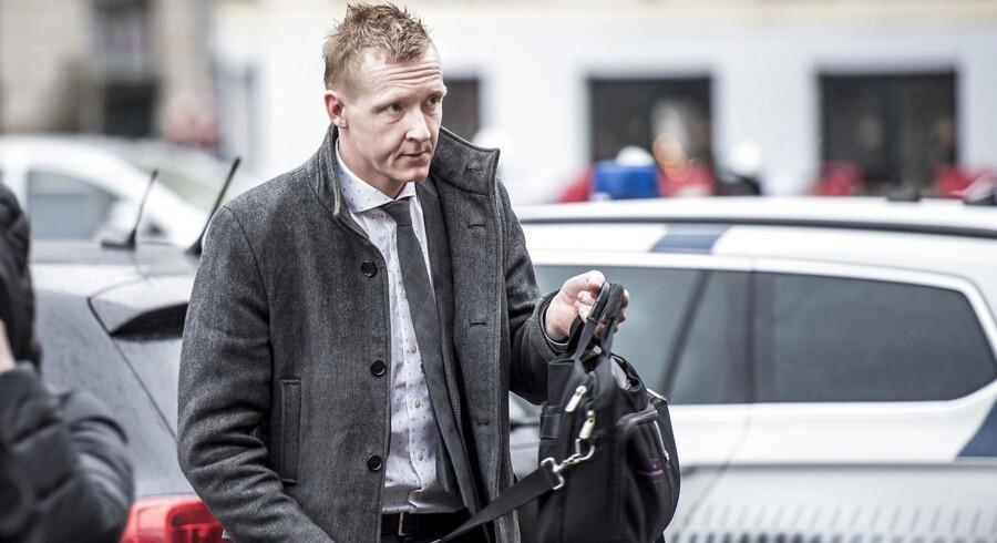 Anklager Jakob Buch Jepsen ankommer til Københavns Byret, hvor retssagen fortsætter mod Peter Madsen, tirsdag den 27. marts 2018 i retssal 60. Peter Madsen er mistænkt for at have dræbt den svenske journalist Kim Wall på sin ubåd, parteret liget og kastet delene i havet. Sagen begyndte 8. marts og fortsætter 28. marts samt 5., 23. og 25. april