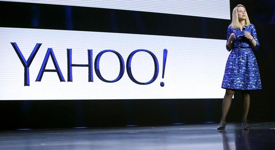 Yahoo topchef Marissa Mayer.
