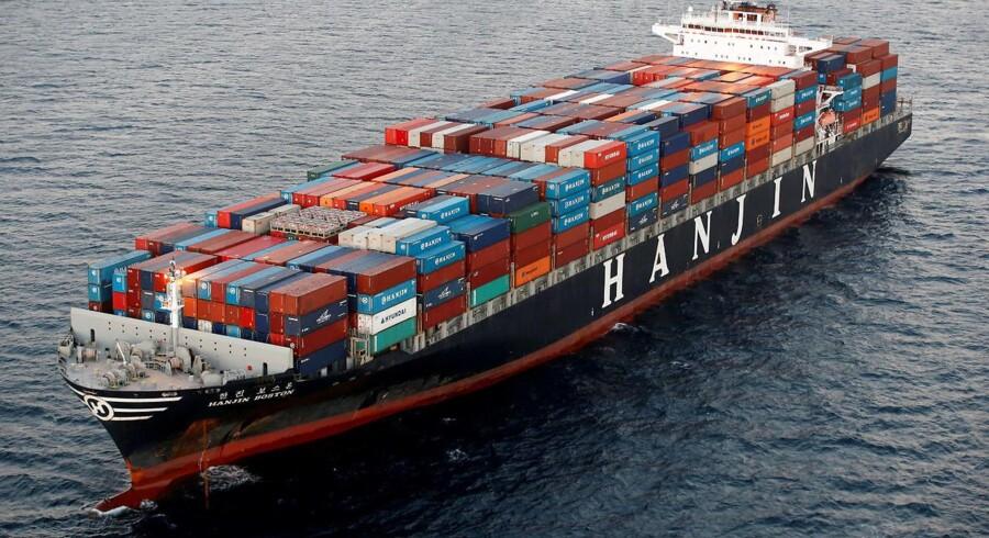 Det er Hanjins amerikanske forretning, som nu er blevet overtaget af rederiet, oplyser den sydkoreanske pendant til Sø- og Handelsretten.