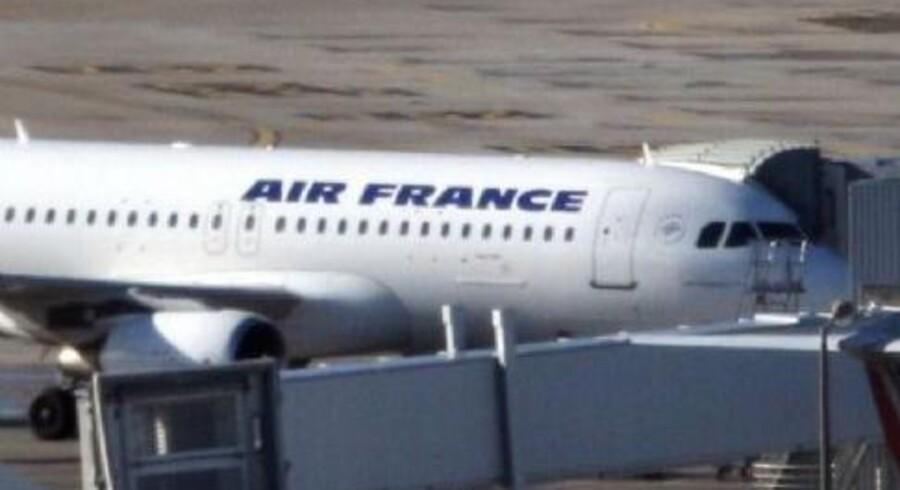 Air France kan blive ramt af strejke blandt kabinepersonalet fra onsdag. Arkivfoto. Free/Colourbox