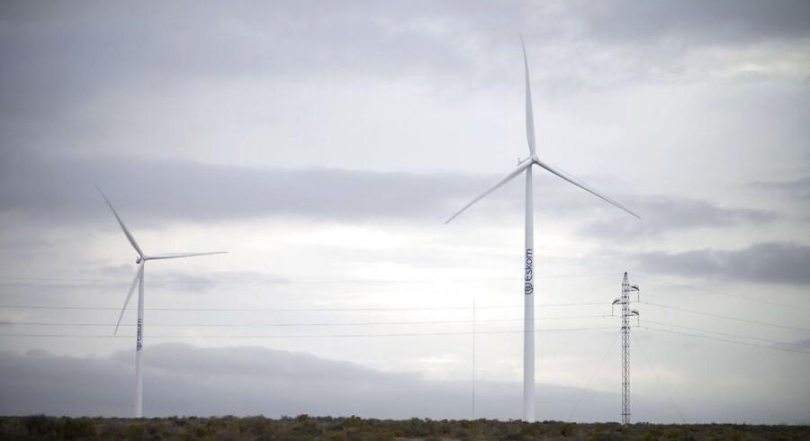 Arkivfoto: Siemens Wind Power møller i sydafrika.