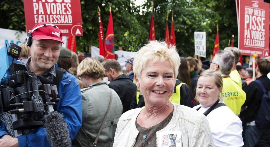 Medlemmerne siver fra fagbevægelsen, men LO-formand Lizette Risgaard er én af dem, der tror på, at det er muligt at vende udviklingen. Arkivfoto.